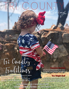 Tri County Living Cover - Premier Issue